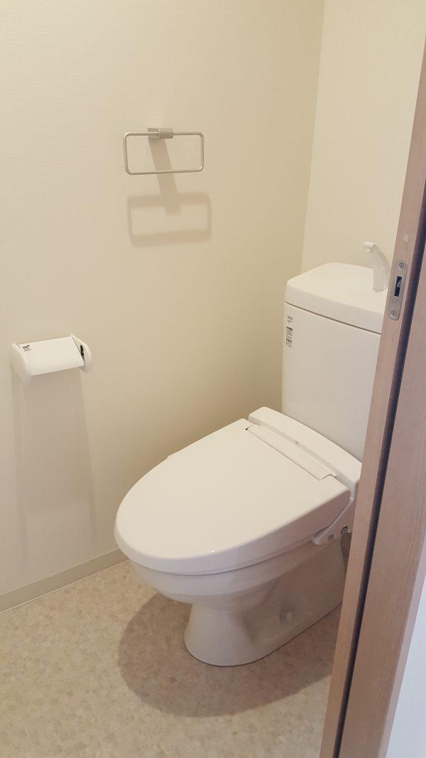 住宅兼賃貸住宅 賃貸トイレ