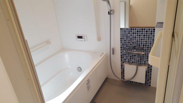 住宅兼賃貸住宅 オーナー側浴室
