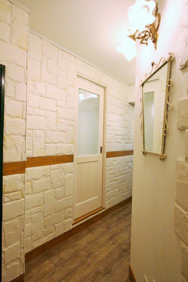 改装後廊下