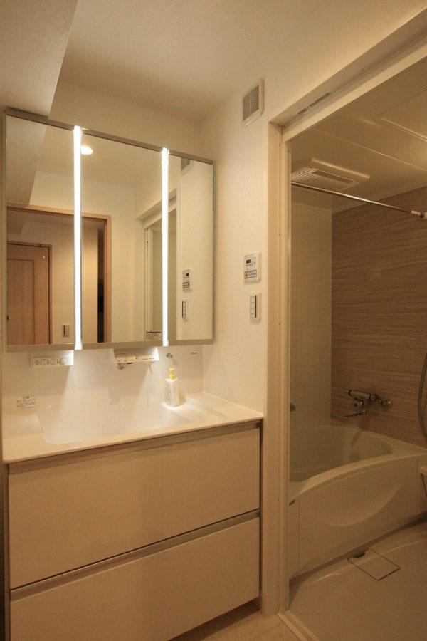 改装後洗面・浴室