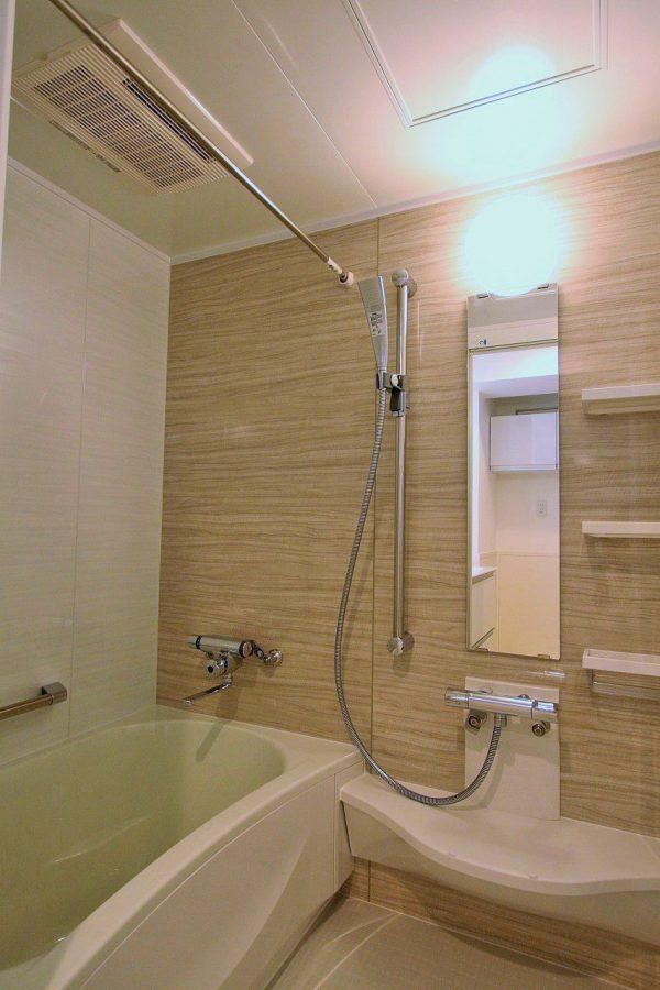 改装後浴室